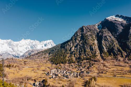 Photo The Basin Pre-Saint-Didier in Aosta Valley