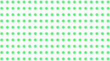 Polka Dots Green And White