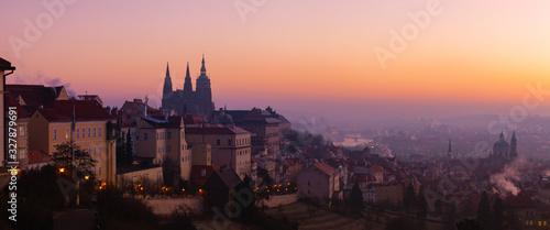 Prague Castle is a castle complex in Prague, Czech Republic, built in the 9 th century.