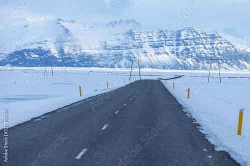Vászonkép Vatnajökull Glacier Islande
