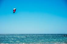 KIte Surfer In Alghero Shore O...