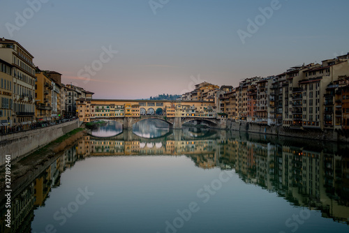 City of Florence arno Wallpaper Mural