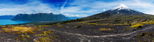 Panorama Of The Patagonian Mou...