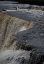 Flowing Water Of A Waterfalls