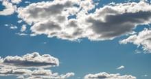 Timelapse Of Blue Sky Backgrou...
