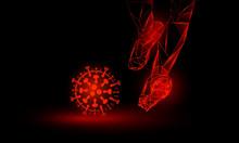 Soccer Against Coronavirus. Po...