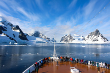 A Cruise Ship Along The Coasts...