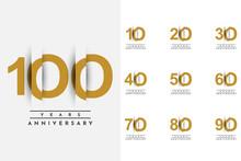 Set C10 T0 100 Years Anniversa...