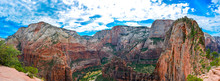 Angels Landing Trail In Zion N...