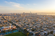San Francisco Downtown Buildin...