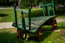 Old Railway Cart Wagon