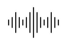 Audio Or Sound Vector Icon. Di...