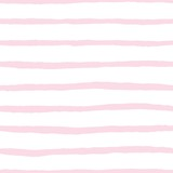 Tile vector pattern with pink and white stripes background - 327958046