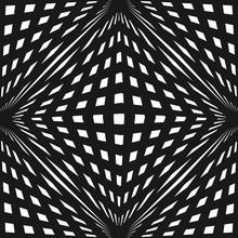Vector Geometric Checkered Pat...