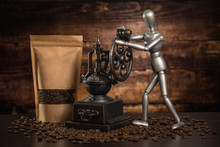 Craft Packaging With Coffee Be...