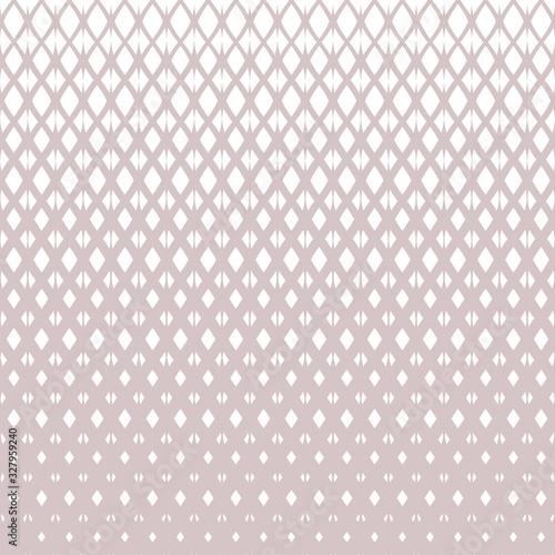 Obraz na plátne Vector halftone grid seamless pattern