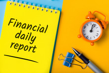 Financial Daily Report On Offi...