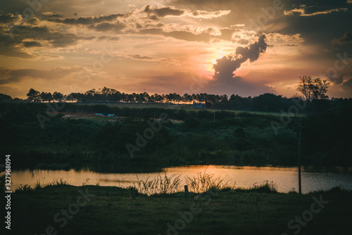 Photo por do sol