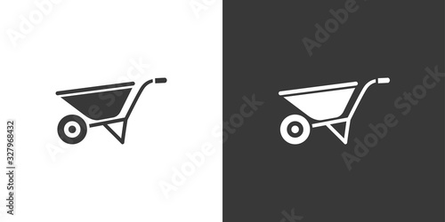 Fotografia Wheelbarrow