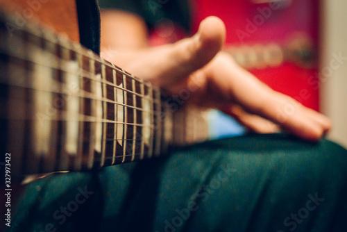 guitarra Canvas Print