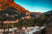 Rustic Village With A Castle O...