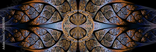 Fototapeta Colorful Fractal Background obraz