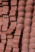 Background Of Terracotta Potte...