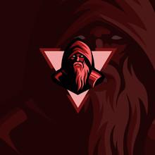 Vector Of Red Mascot Design, G...