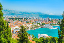 City Of Split In Dalmatia, Cro...