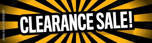 Fotografia Clearance sale