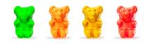Jelly  Gummy Bears Candy.  Fru...
