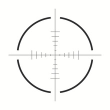 Sniper Scope Icon. Vector Illu...