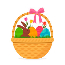 Festive Easter Basket With A S...