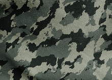 Camouflage Cloth Texture. Abst...