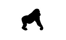 Gorilla Logo Design Animal Mon...