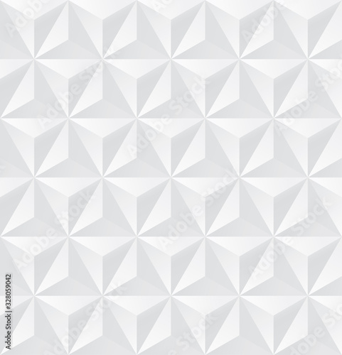 Tapety białe  abstract-white-triangle-background-3d-triangle-seamless-pattern-vector