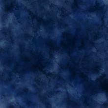 Navy Blue Watercolor Brush Str...