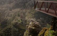 Torre De Doncos And Viewing Platform In Lugo On The Camino De Santiago