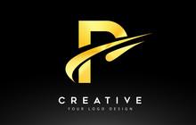 Creative P Letter Logo Design ...