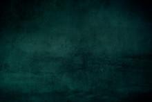 Dark Green Grungy Backdrop Or Texture