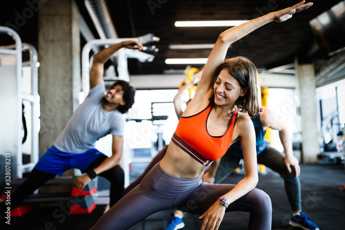 Fotomural Fitness, sport, training and lifestyle concept