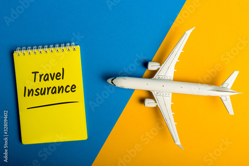 Travel Insurance - for trip cancellation, medical expenses, lost luggage and travel accident Canvas Print