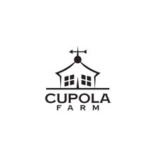 Cupola Farm Logo Design Icon V...