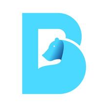 Creative Bear , B, Typographic...