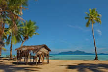 Malaysia. A Deserted Reef Isla...