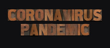 Coronavirus Pandemic Words In ...