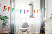 Living Room Decorated For Baby...