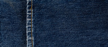 Texture Of Blue Jeans Denim Fa...