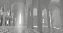 Blurred 3D Illustration Backgr...