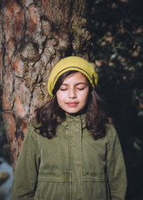 Portrait Of A Young Girl In Th...